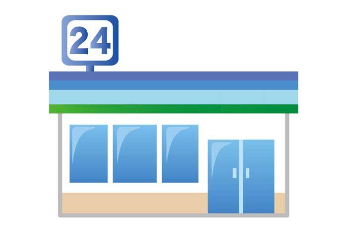 主要コンビニの無料Wi-Fi・電源・イートインスペースが使える店舗2018